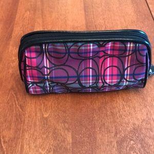 Coach small makeup case